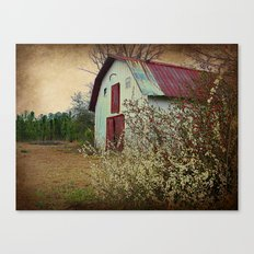 Happy Old Barn Canvas Print