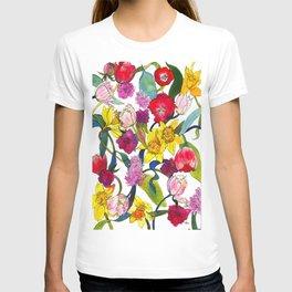 Tulips & Daffodils  T-shirt