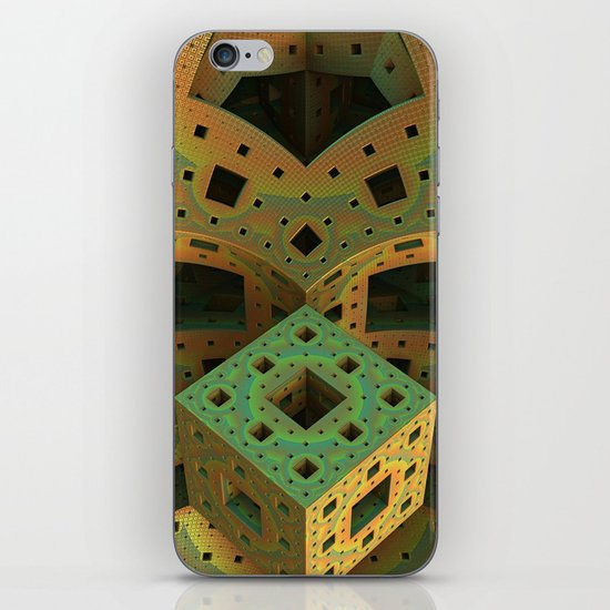 Puzzle Box iPhone & iPod Skin