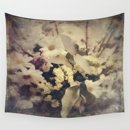 Flowers of Nostalgia Wall Tapestry