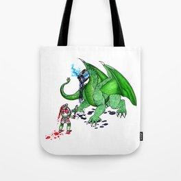 Tea Slayer Tote Bag