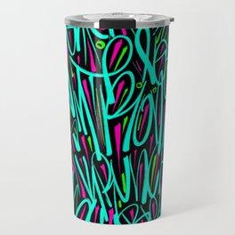 Retro Graff Travel Mug