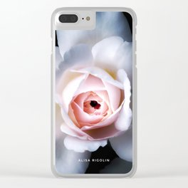 Night Rose of the Secret Rose Collection Clear iPhone Case