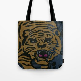 Golden Tiger Tote Bag