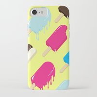 popsicle iPhone & iPod Cases featuring Popsicle by Sher Mavro ART