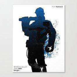 TF2 - Engineer class Canvas Print