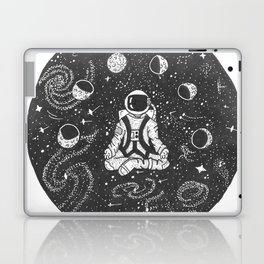 Astronaut Meditating Laptop & iPad Skin