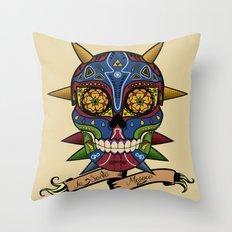 La Santa Majora Throw Pillow