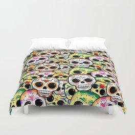 Sugar Skull Madness Duvet Cover