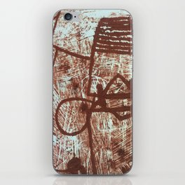 Etched iPhone Skin
