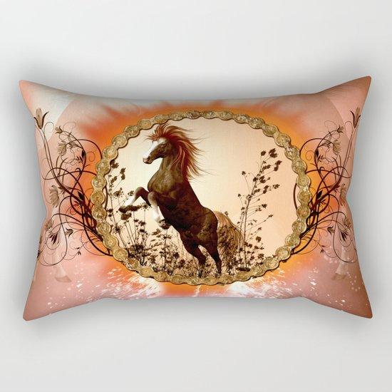 Wonderful horse Rectangular Pillow