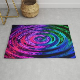 Holland Chakra Circle Dark Rug