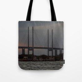 Sibbarp Harbour  Tote Bag
