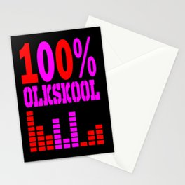 oldskool raver Stationery Cards