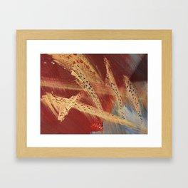 Crisscross Framed Art Print