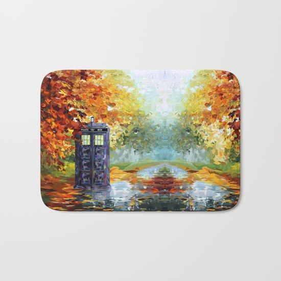 starry Autumn blue phone box Digital Art iPhone 4 4s 5 5c 6, pillow case, mugs and tshirt Bath Mat