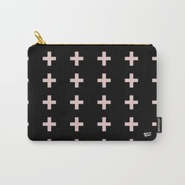 Plus Sign Pattern #buyart #kirovair #minimalism #abstract #art Carry-All Pouch
