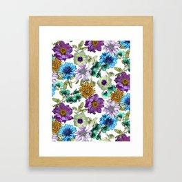 Botanical Haze Framed Art Print