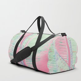 Flamingo and banana Duffle Bag