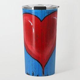 Graffiti Love Heart Travel Mug