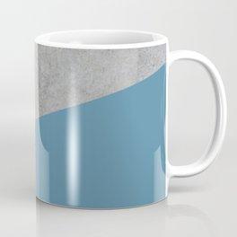 Concrete and Niagara Color Coffee Mug