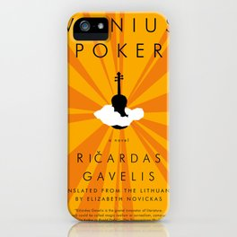 Vilnius Poker iPhone Case