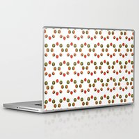 moon phase Laptop & iPad Skins featuring It's just a phase by The New Old World