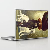 dogs Laptop & iPad Skins featuring Dogs by Kelly Perry