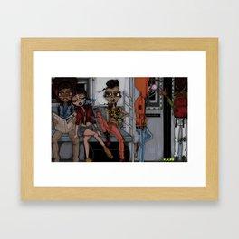Tha Bronx 1 Framed Art Print