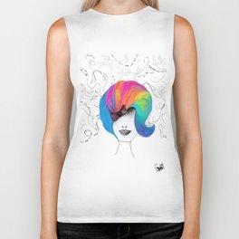 365 cabelos - colors Biker Tank