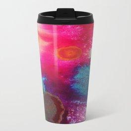 Ink Drop Abstract Travel Mug