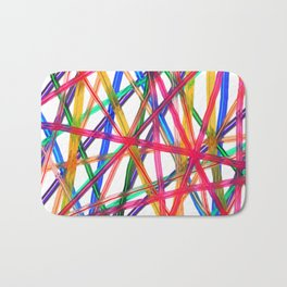 Lines Of Transparency Bath Mat