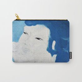Blue Purin Carry-All Pouch
