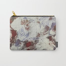 Grunge Leaves Carry-All Pouch