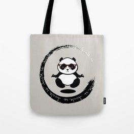 Yoga Panda Tote Bag