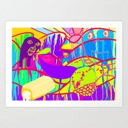 2chan Art Print
