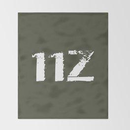 11Z Infantry MOS Throw Blanket
