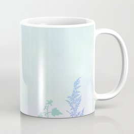 leafs and plants in forest art Coffee Mug