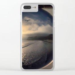 Capturing Avila Beach refraction photography crystal ball Clear iPhone Case