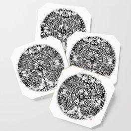 deer mandala Coaster