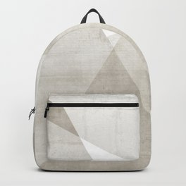 Structure No. 2 | Abstract in Neutral Backpack