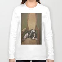 downton abbey Long Sleeve T-shirts featuring Abbey by Ambre Wallitsch