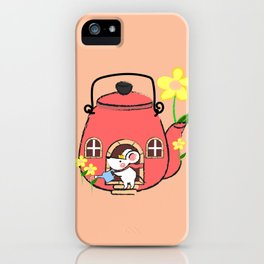 White Mouse's Teapot House iPhone Case