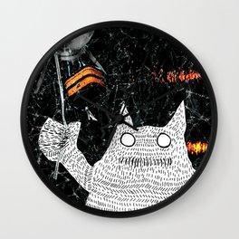 The Monster Unslayable Wall Clock