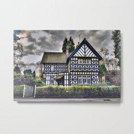 Tudor Home Metal Print