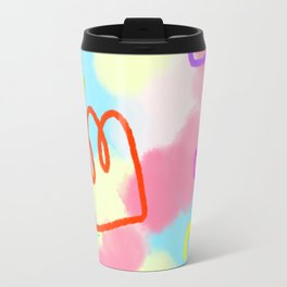 Life Is A Circus no.4 - pop art pattern Travel Mug