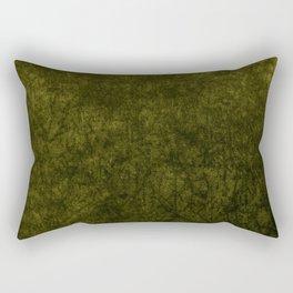 olive green velvet | texture Rectangular Pillow