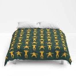 Clay Calisthenics Comforters