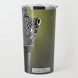 CRZN Dynamic Microphone - 003 Travel Mug