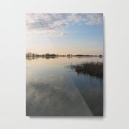 Bright Lake Metal Print